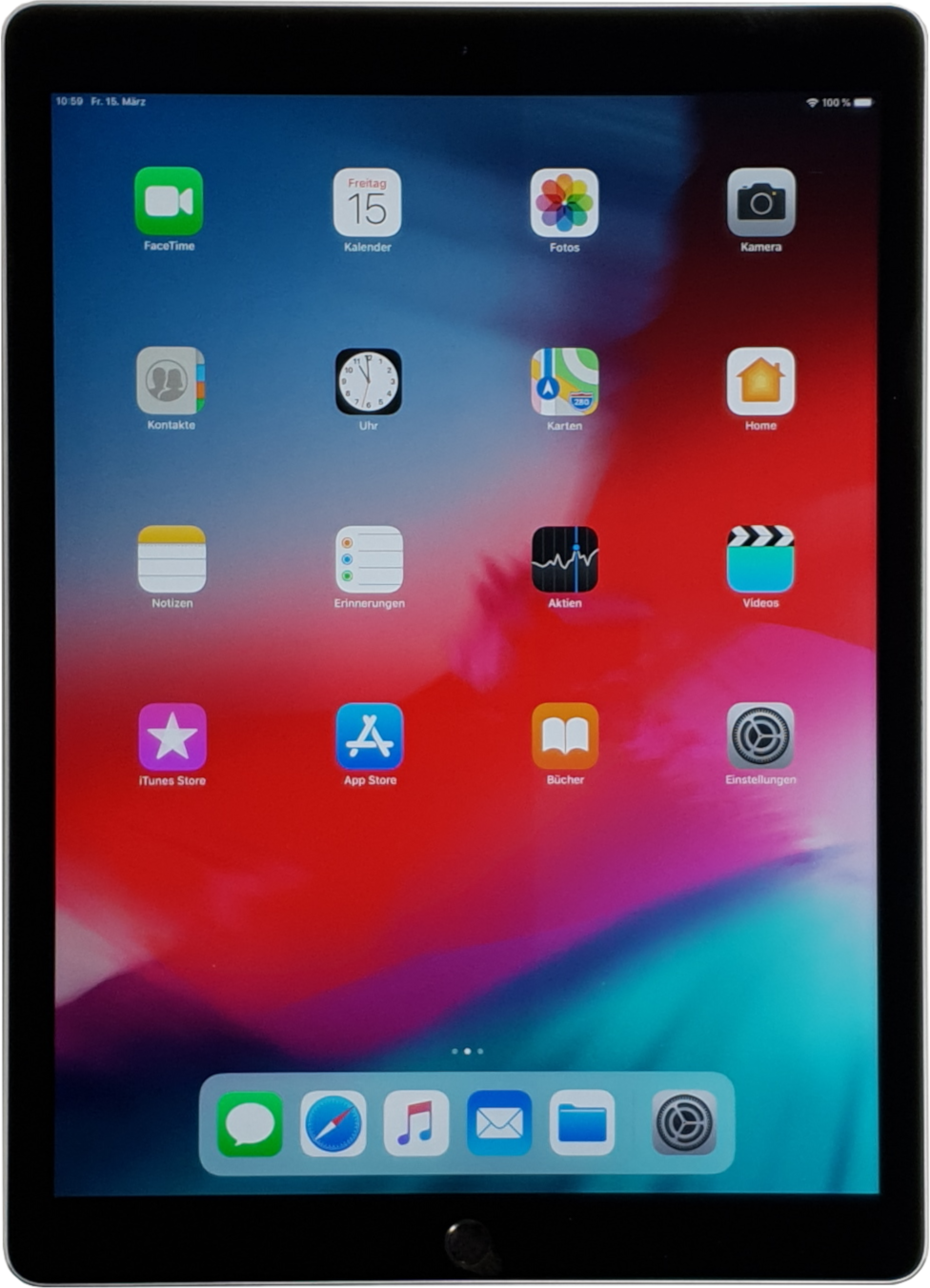 "iPad Pro 12,9"" Generation 2 (WiFi) - 64GB Spacegray -"